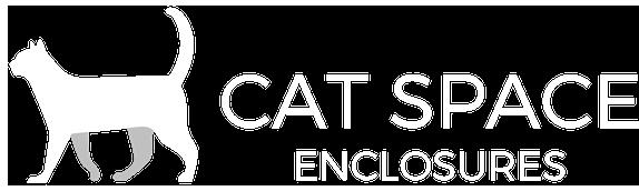 Outdoor Cat Enclosures White Logo